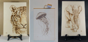 pyrography, wood, home decor