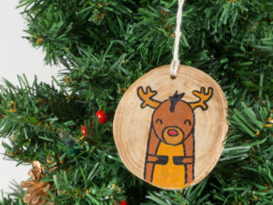 Christmas tree decorations reindeer