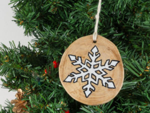 Christmas tree decorations Snowflake