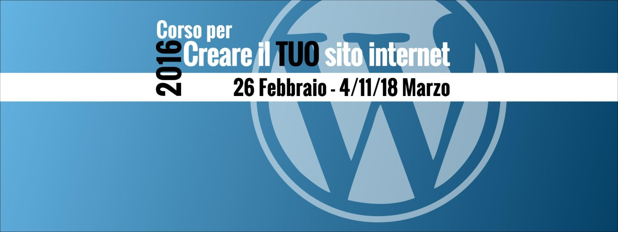corso webdesign wordpress